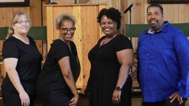 Austin Coordinators Mary Bolden and Creschenda Horton